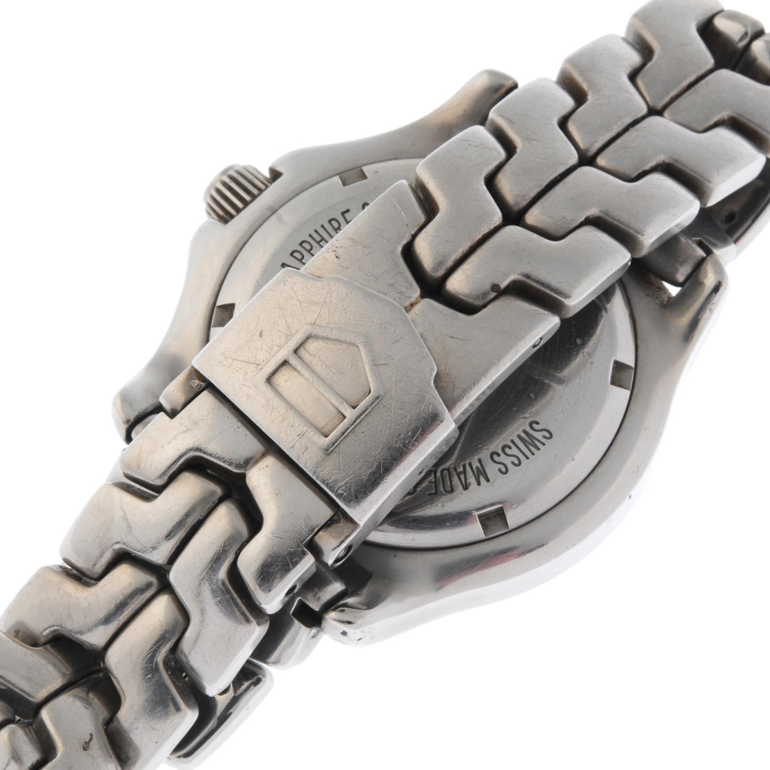 TAG HEUER - a Link bracelet watch. - Image 2 of 4