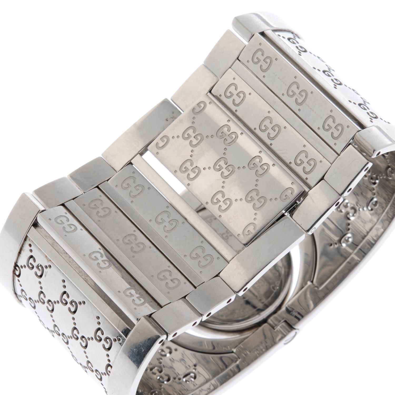 GUCCI - a Twirl bangle watch. - Image 2 of 4