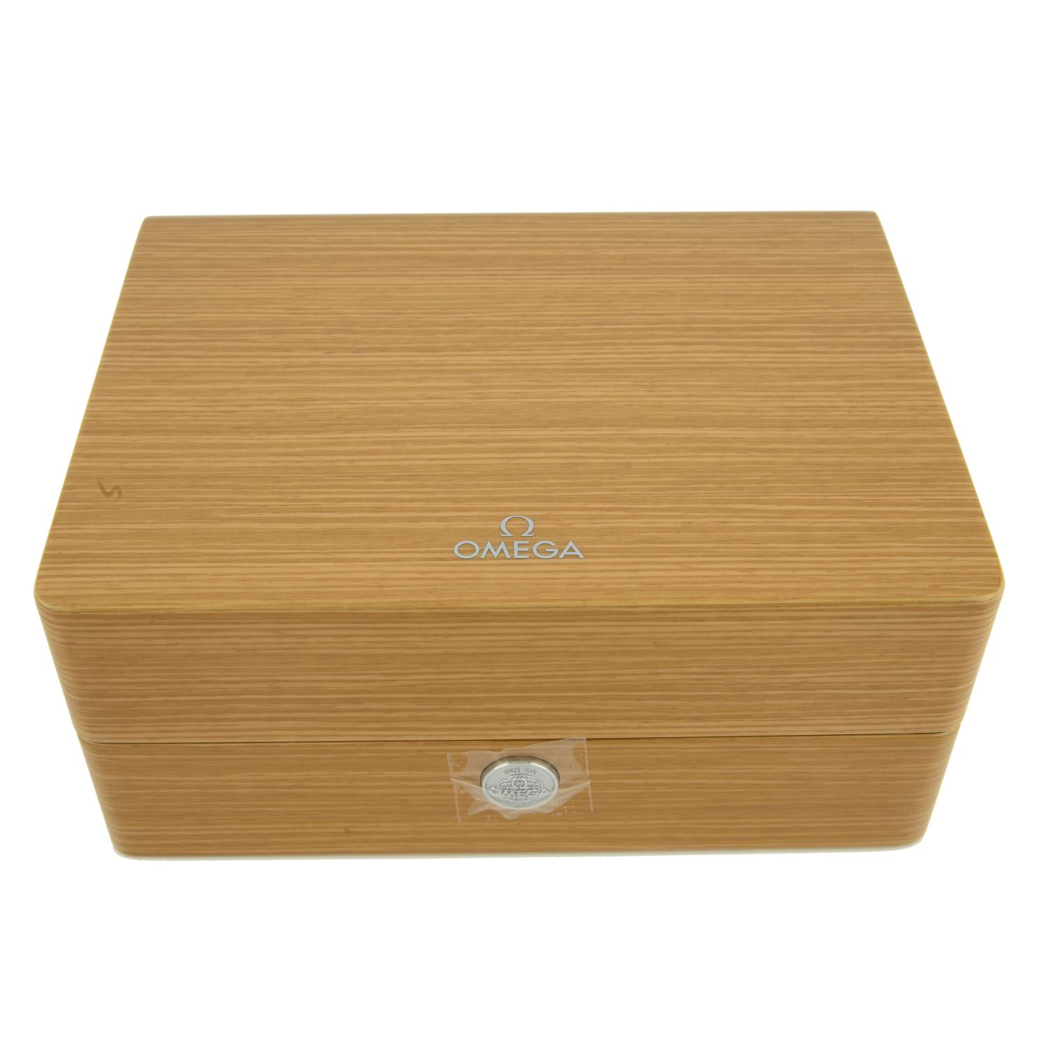 OMEGA - a group of ten watch boxes, some incomplete.