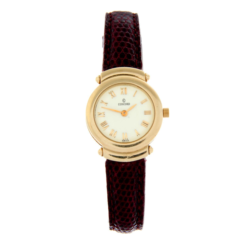 CONCORD - a wrist watch.