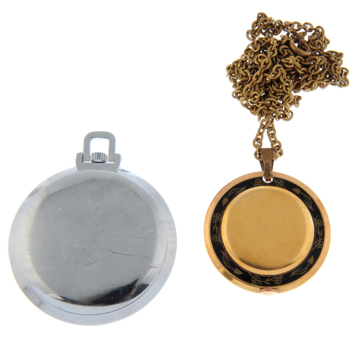 An open face pocket watch by Waltham. - Image 5 of 5