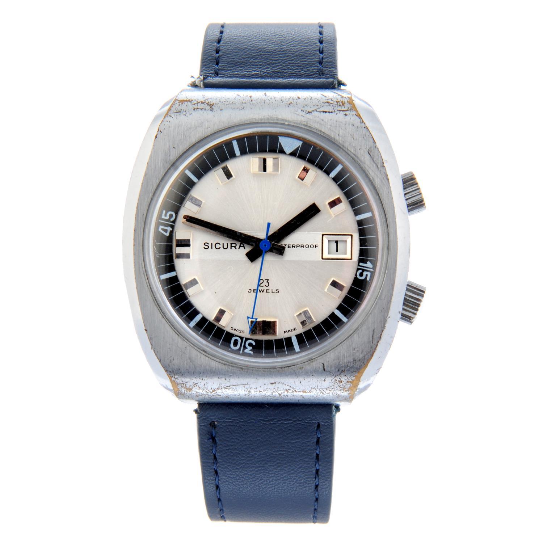 SICURA - a wrist watch.