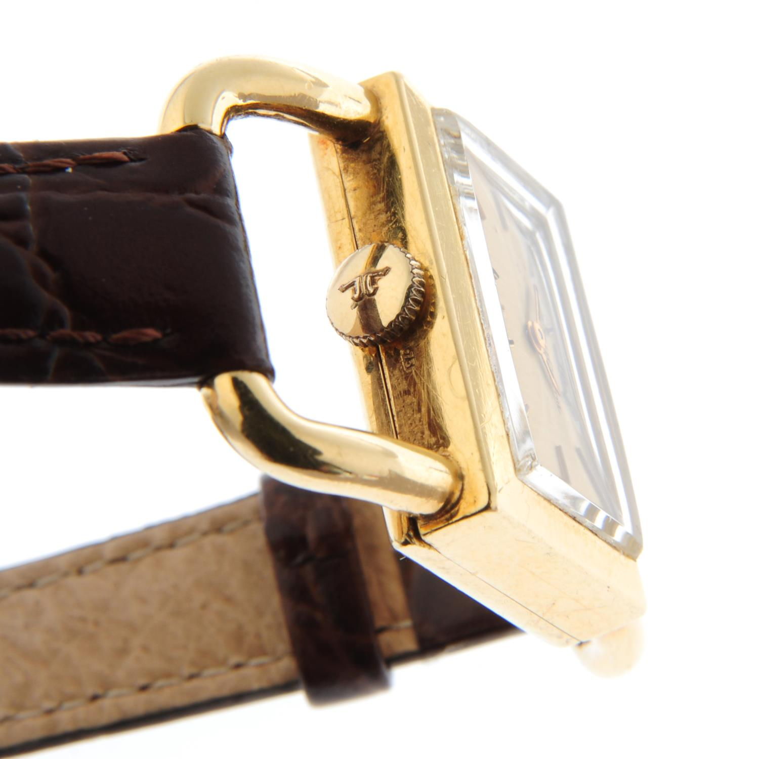 JAEGER-LECOULTRE - a wrist watch. - Image 3 of 4