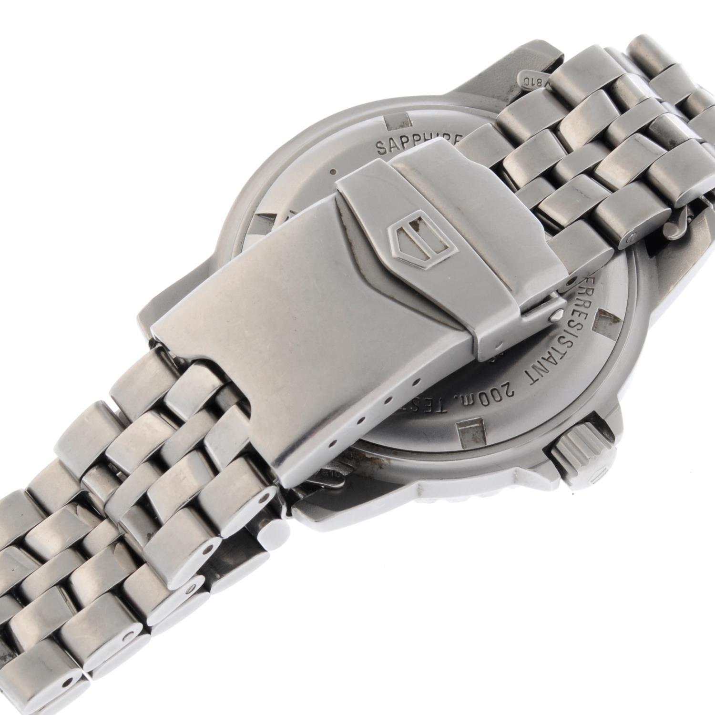 TAG HEUER - a gentleman's 1500 Series bracelet watch. - Image 2 of 4