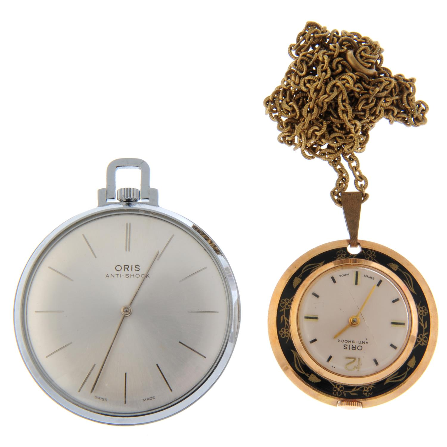 An open face pocket watch by Waltham. - Image 4 of 5