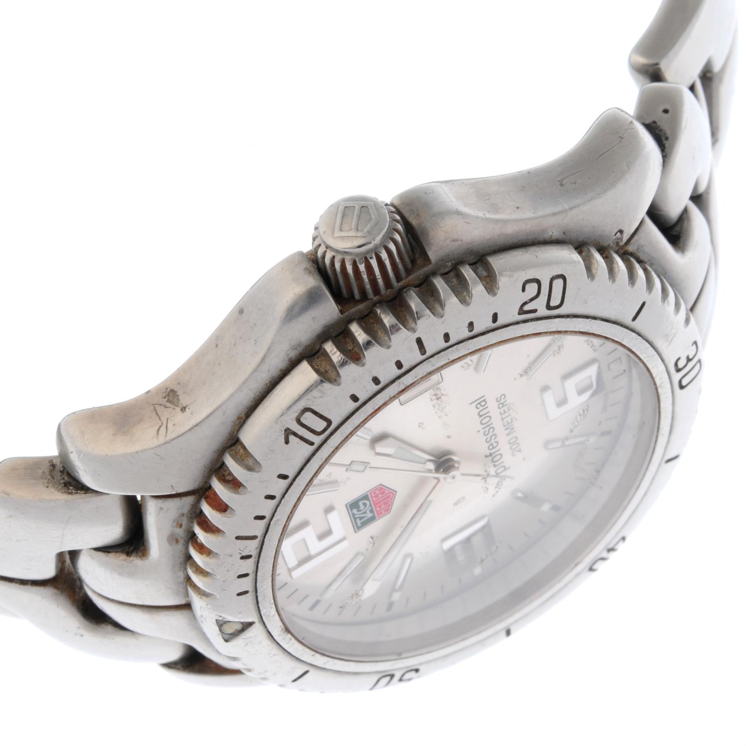 TAG HEUER - a Link bracelet watch. - Image 3 of 4