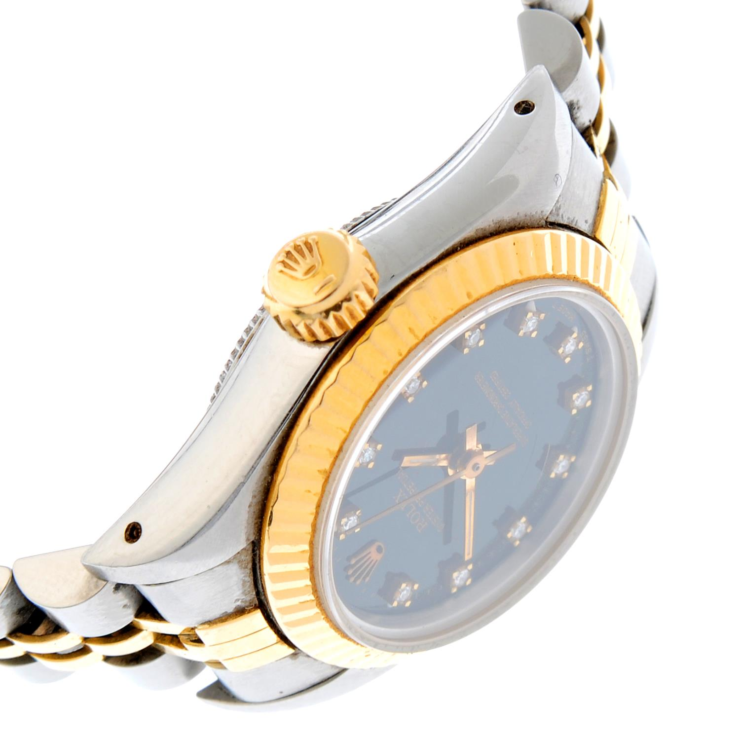 ROLEX - an Oyster Perpetual bracelet watch. - Image 3 of 4