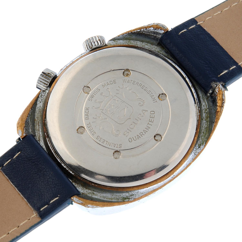 SICURA - a wrist watch. - Image 4 of 4