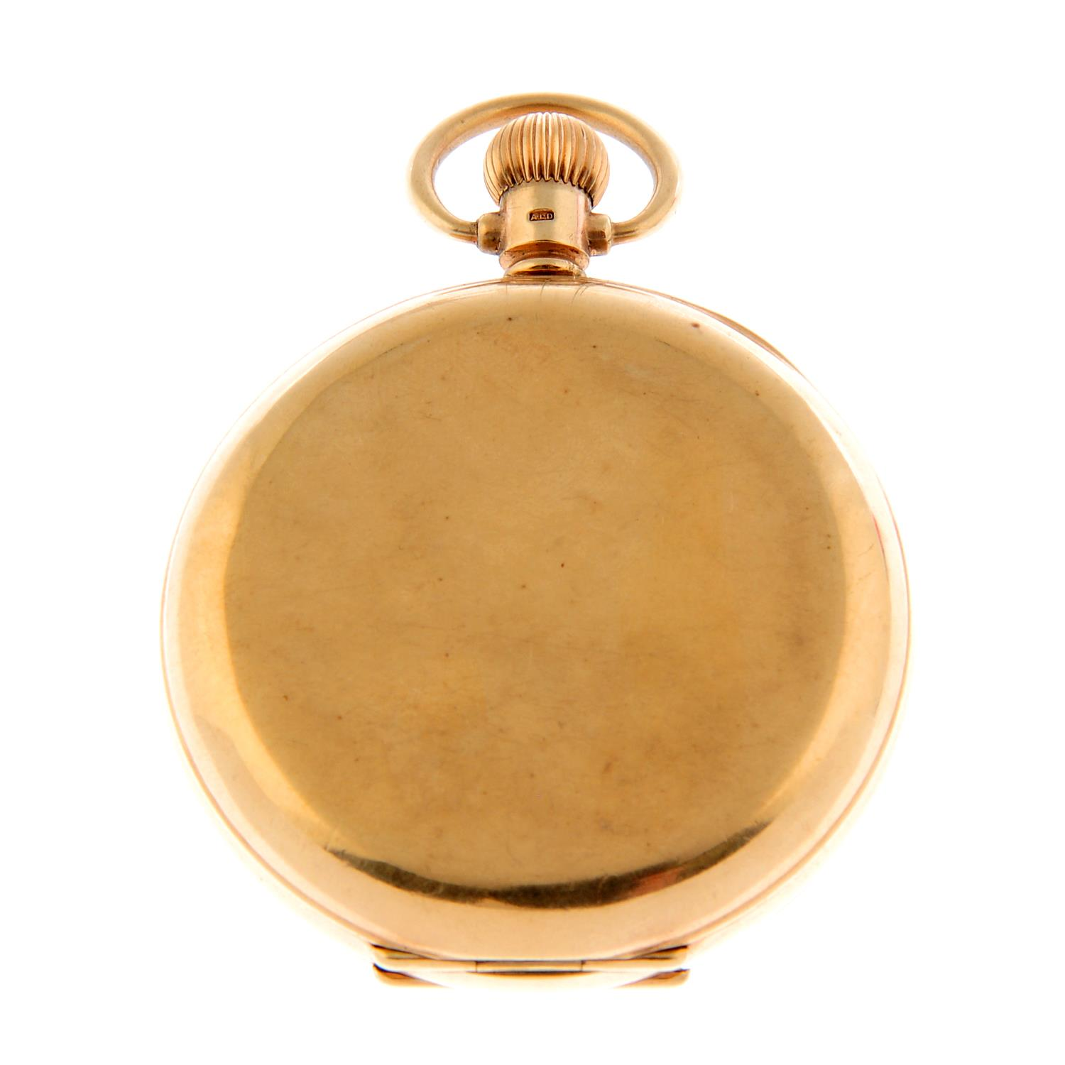 A full hunter pocket watch by Federal. - Image 3 of 4