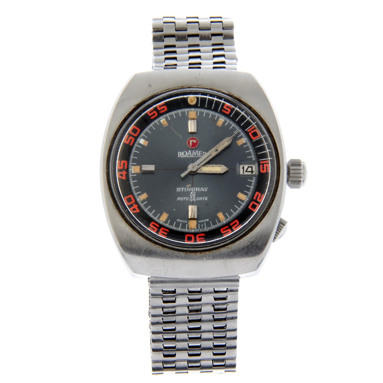 ROAMER - a Stingray bracelet watch.
