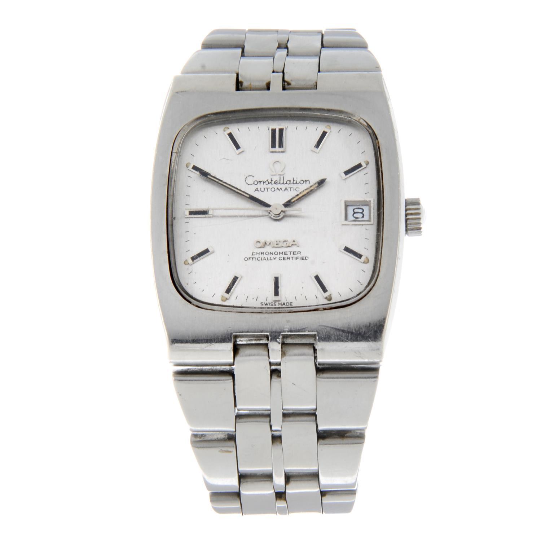 OMEGA - a Constellation bracelet watch.