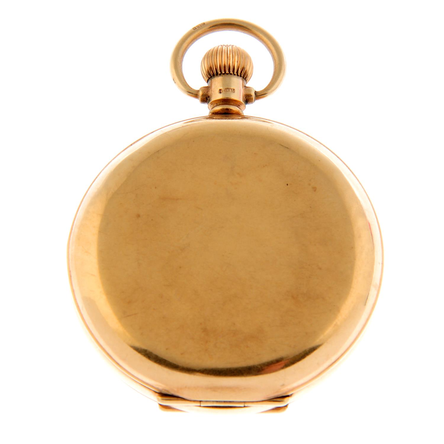 A full hunter pocket watch by Federal. - Image 2 of 4