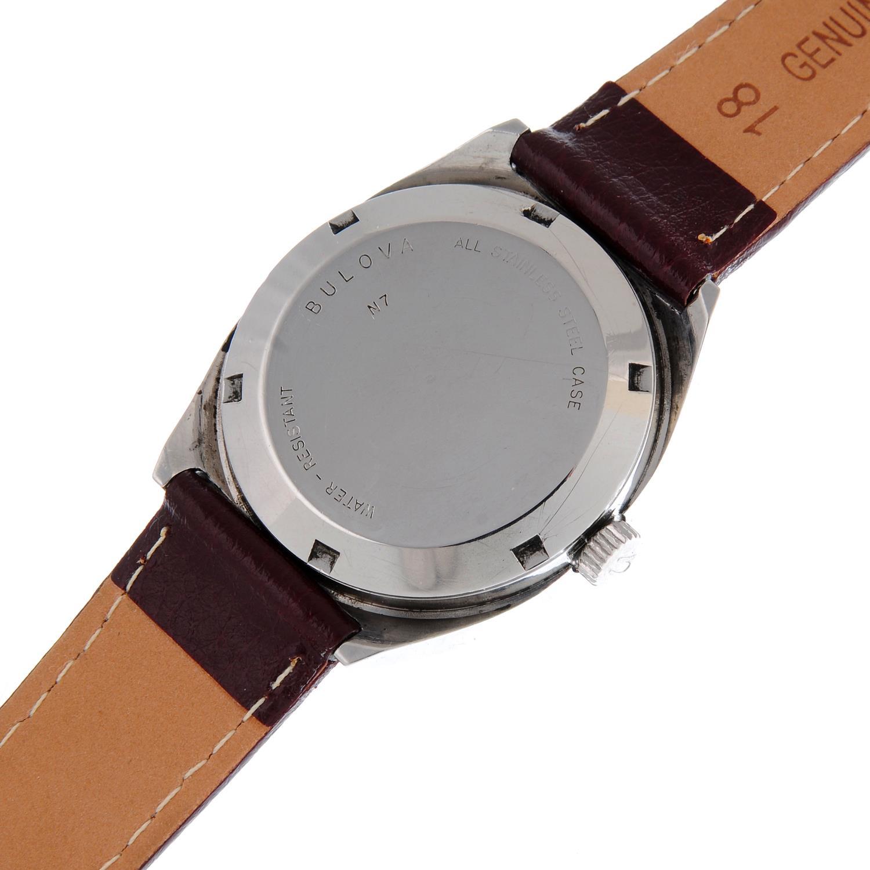 BULOVA - a wrist watch. - Image 4 of 4