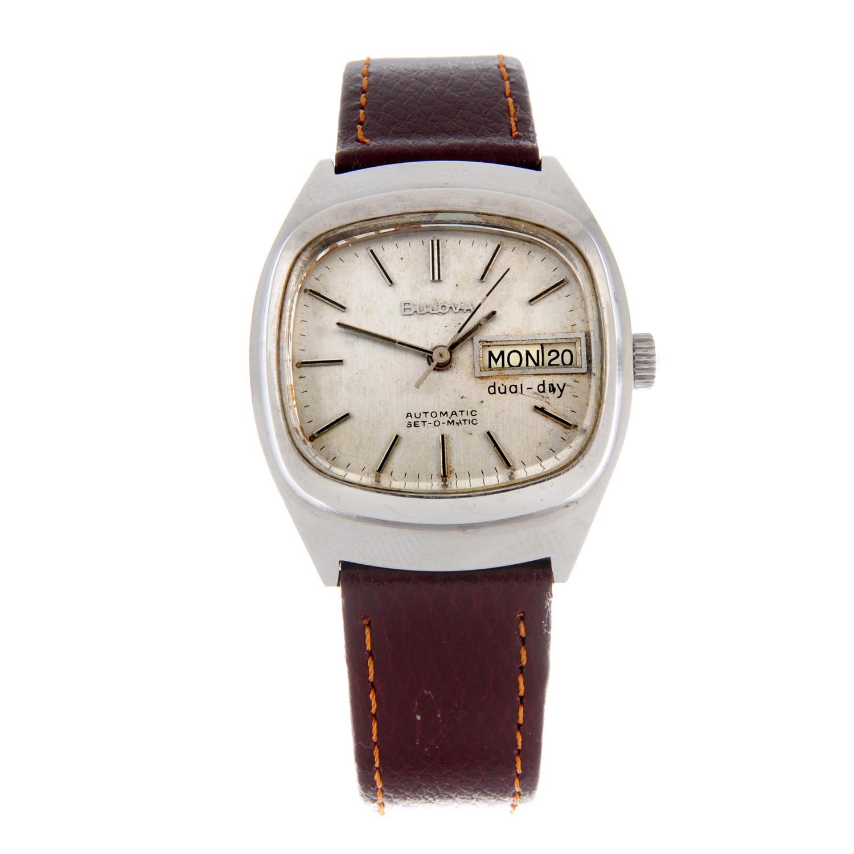 BULOVA - a wrist watch.