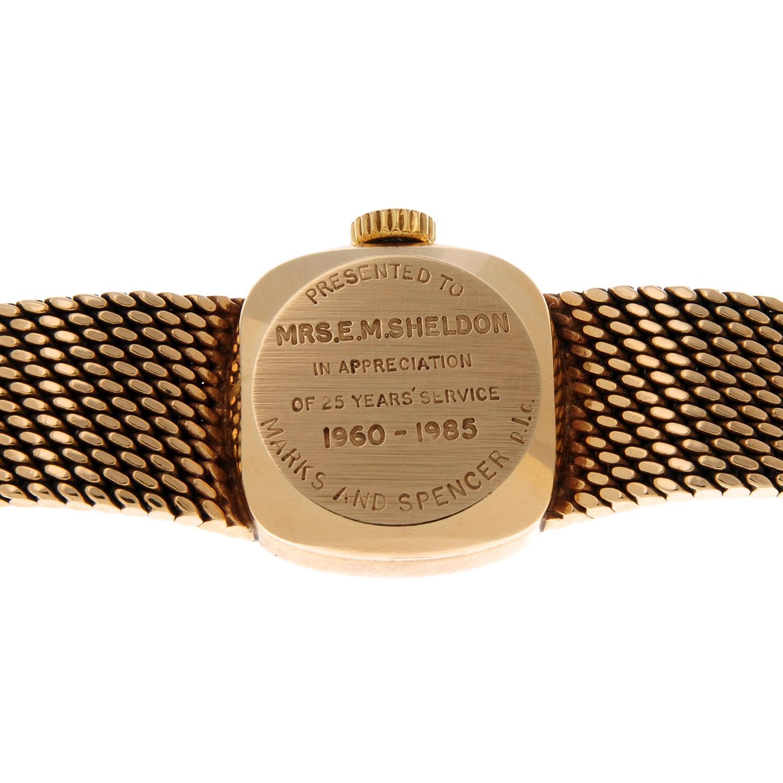 LONGINES - a bracelet watch. - Image 4 of 4