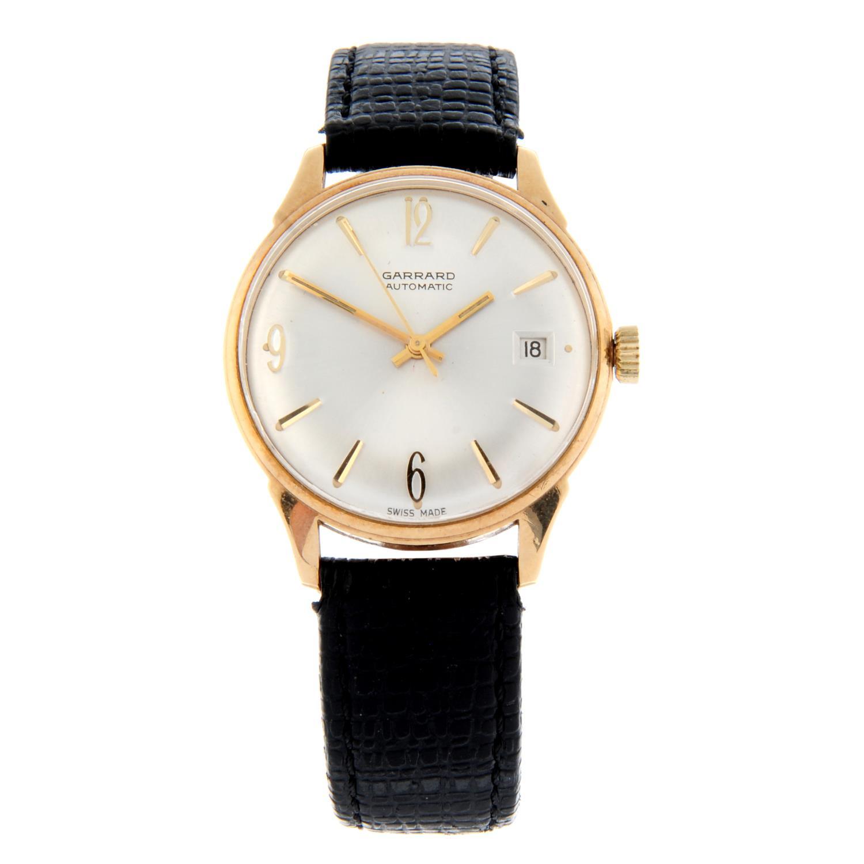 GARRARD - a wrist watch.