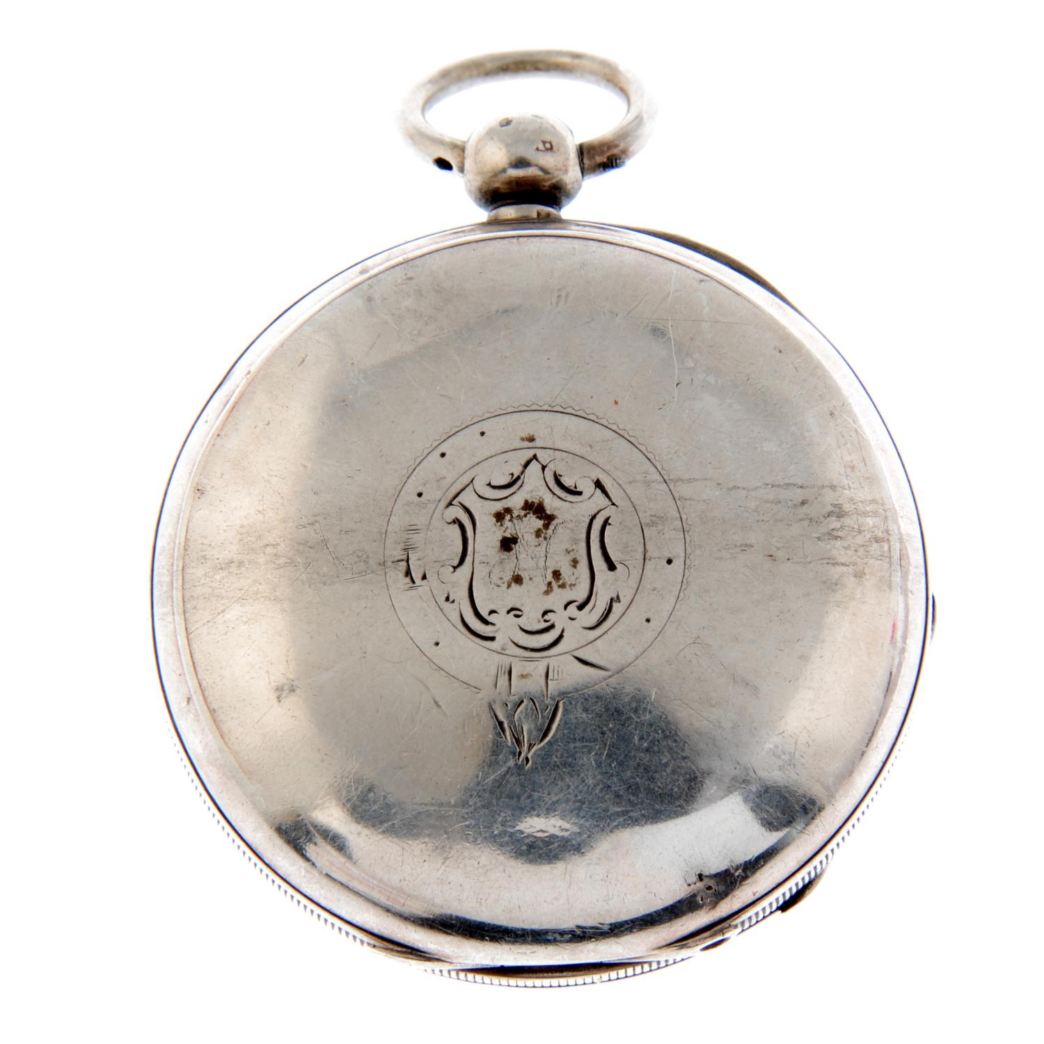 An open face pocket watch by Waltham. - Image 2 of 5