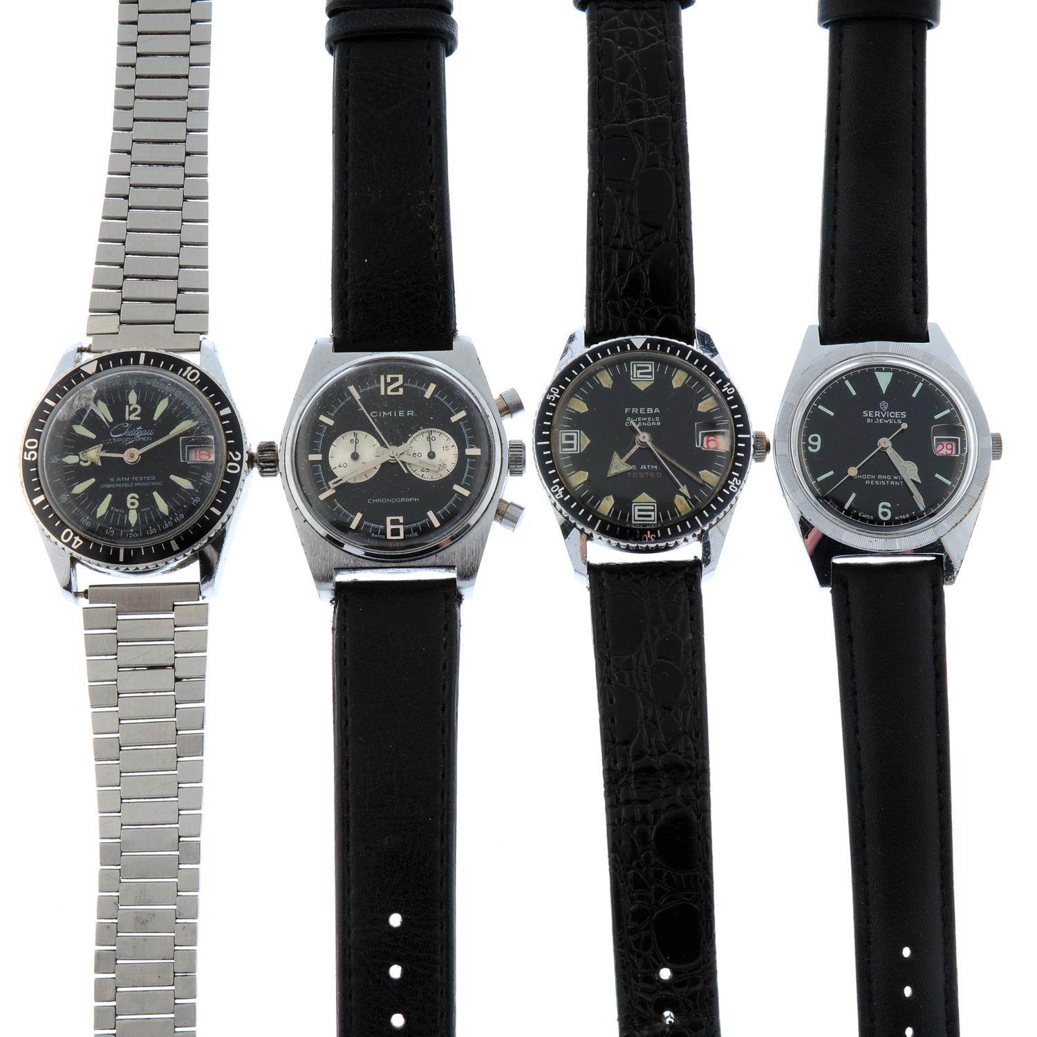 A group of eight assorted watches,