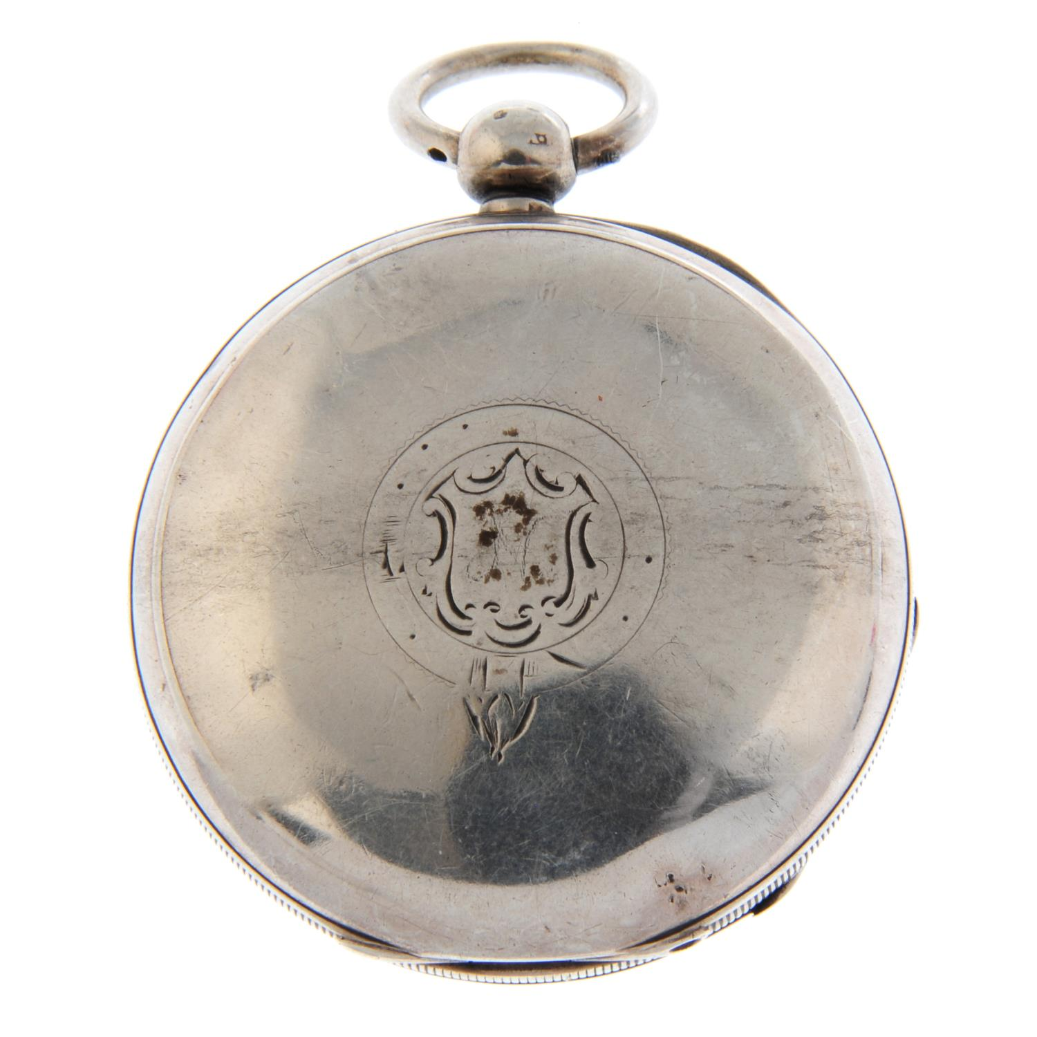An open face pocket watch by Waltham. - Image 3 of 5
