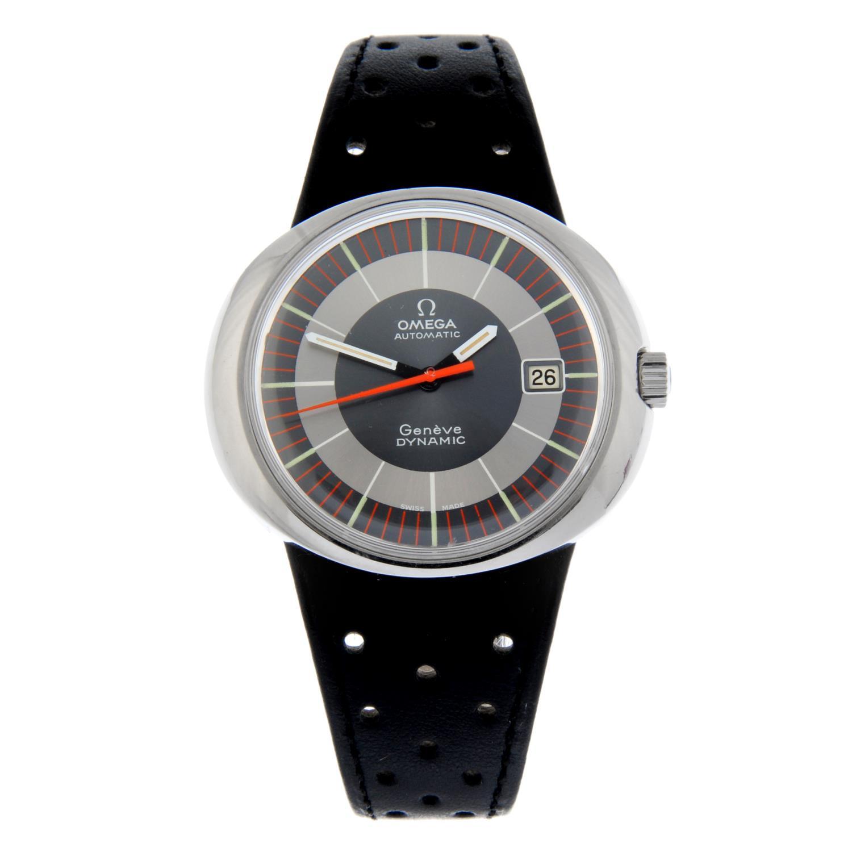 OMEGA - a Dynamic Geneve wrist watch.