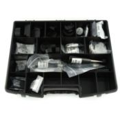 An assortment of Rado case tools,