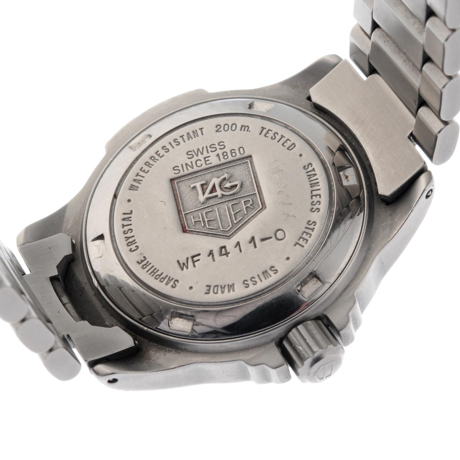 TAG HEUER - a 4000 Series bracelet watch. - Image 4 of 5