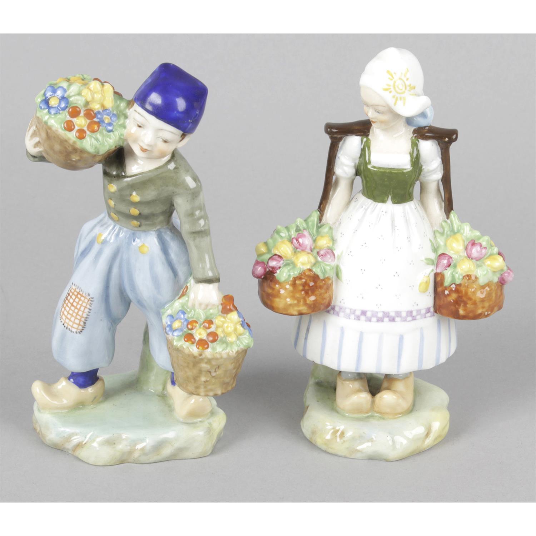 A Royal Worcester figurine.