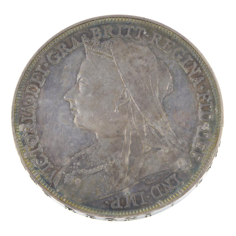 Victoria, Proof Crown 1893.