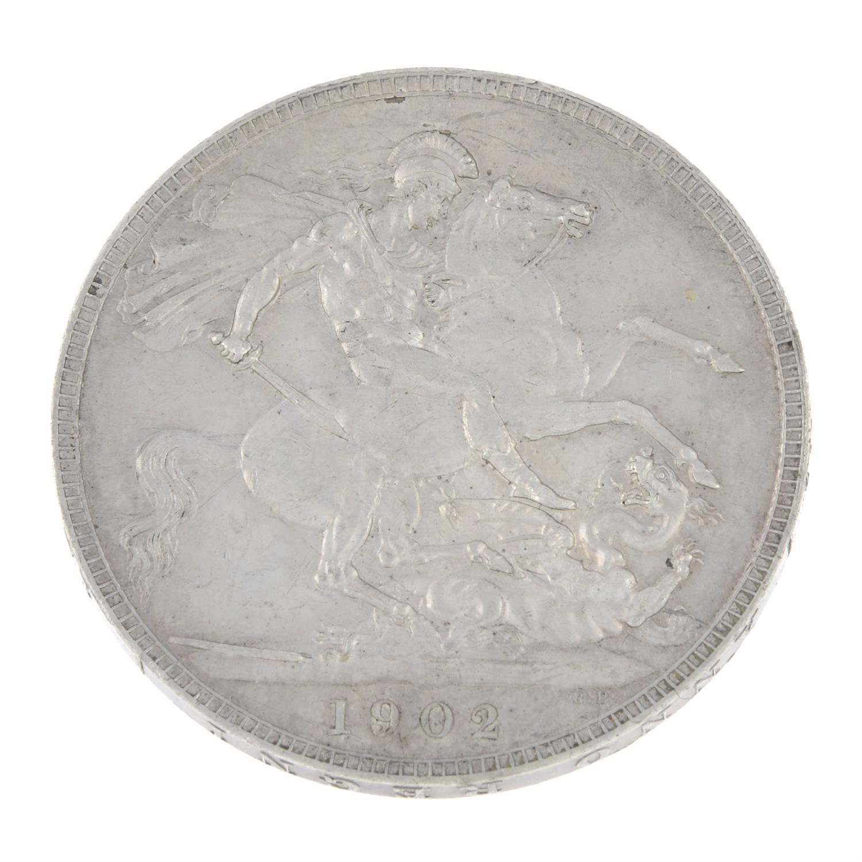 Edward VII, Crown 1902. - Image 2 of 2