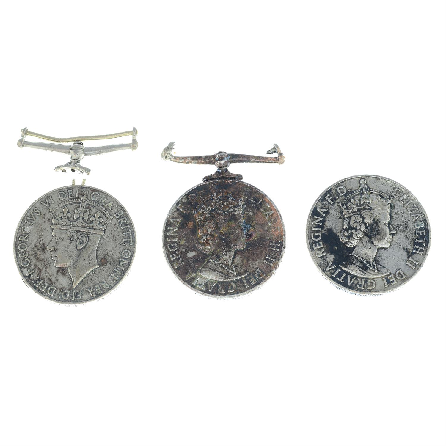 An assortment of civil medals, to include Police Long Service and Good Conduct medals, etc. (6). - Image 3 of 4