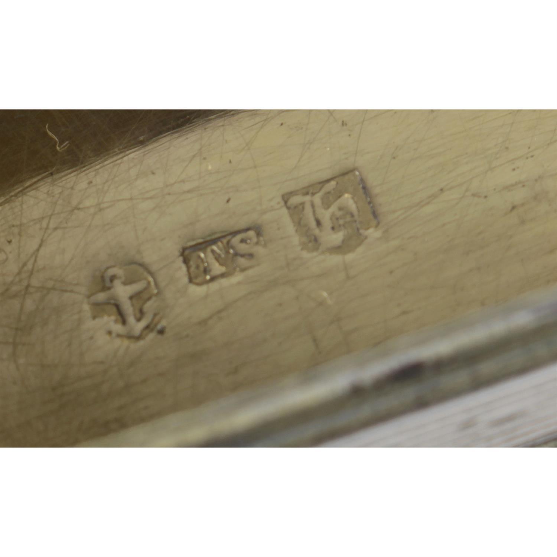 A William IV silver snuff box. - Image 3 of 3