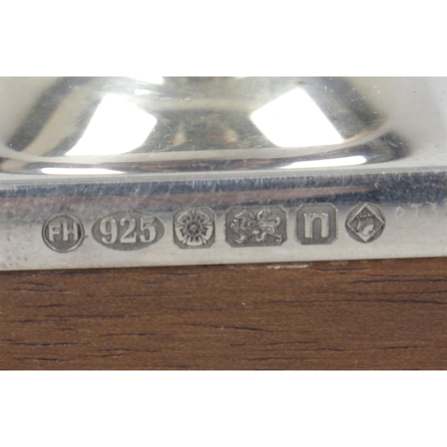 A silver mounted desk blotter. - Image 2 of 2