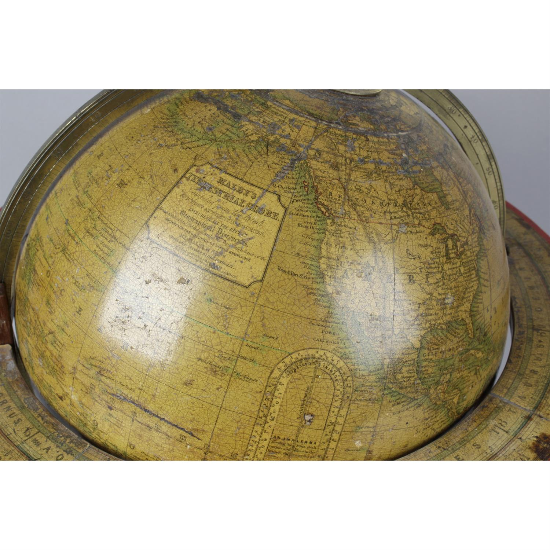 A 19th Century Malbys terrestrial desk globe - Image 2 of 4