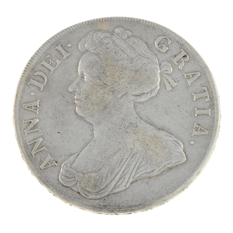 Anne, Crown 1707.