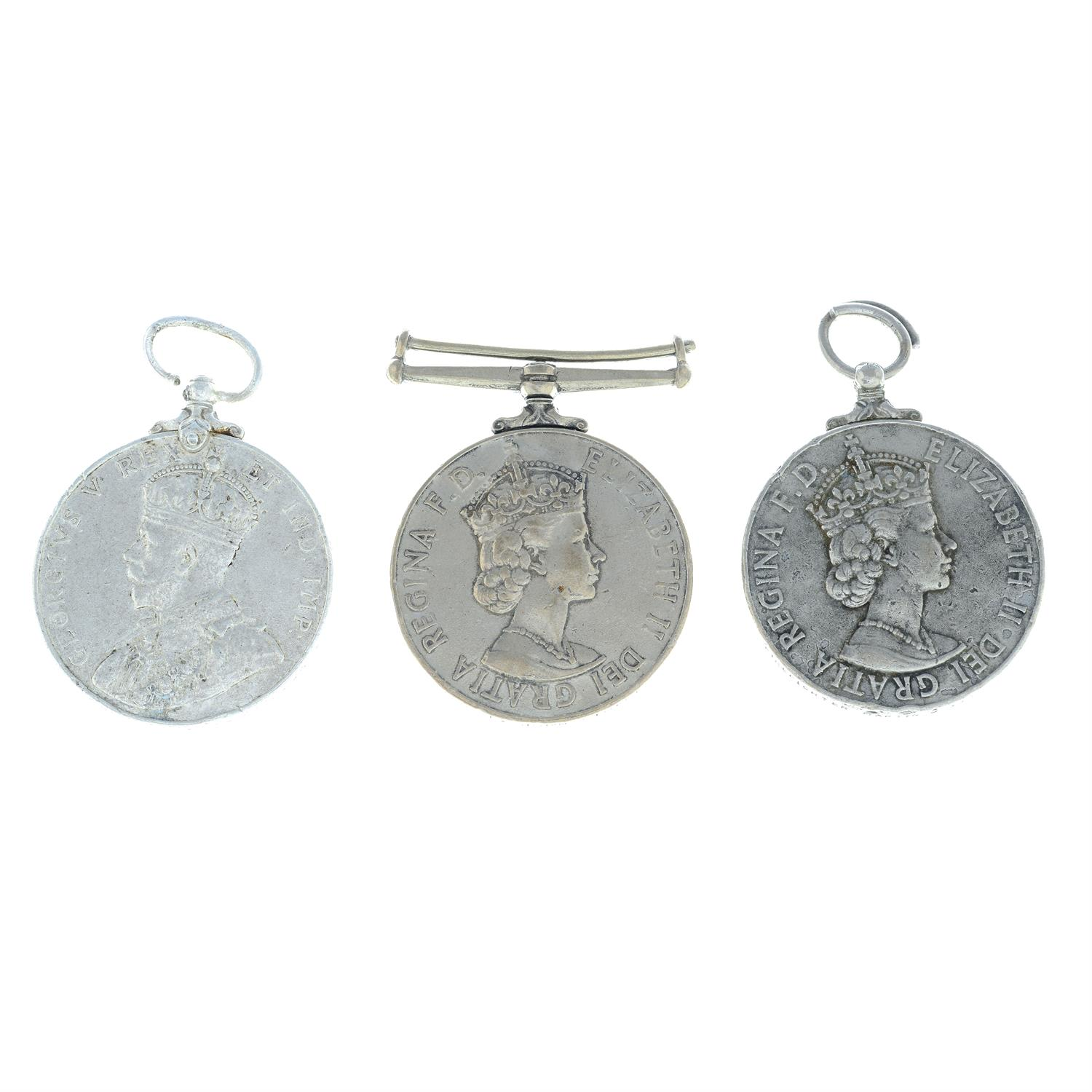 An assortment of civil medals, to include Police Long Service and Good Conduct medals, etc. (6).