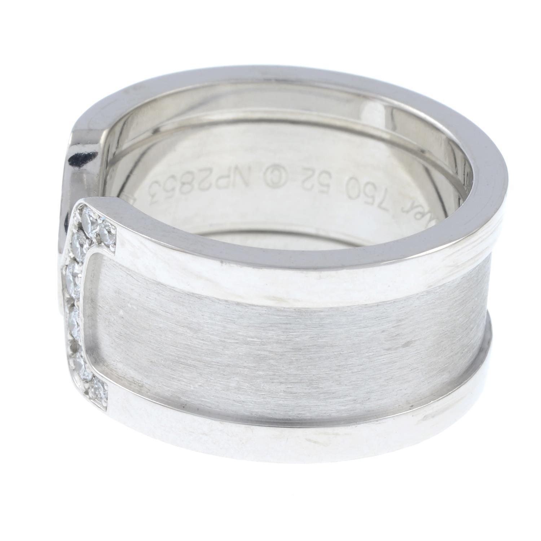 A diamond 'C de Cartier' ring, by Cartier. - Image 3 of 6