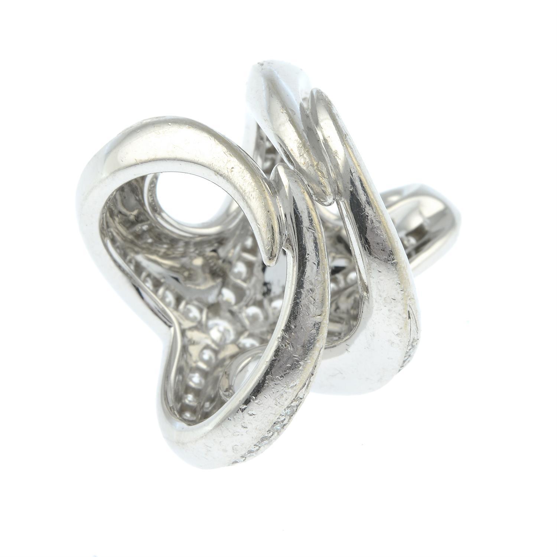 A brilliant-cut diamond starfish ring, by Boucheron. - Image 5 of 6