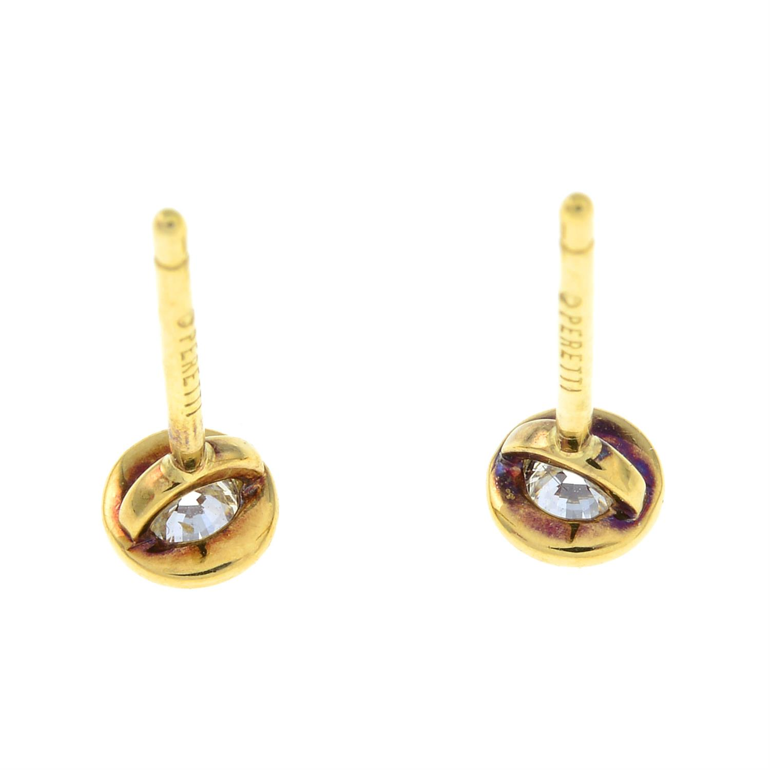 A pair of 'Diamonds by The Yard' earrings, by Elsa Peretti, for Tiffany & Co. - Image 3 of 4