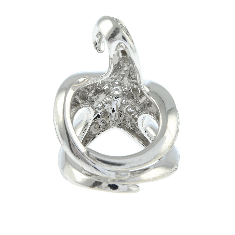 A brilliant-cut diamond starfish ring, by Boucheron. - Image 4 of 6