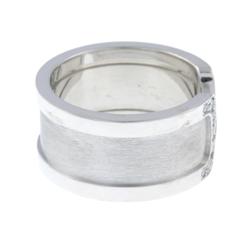 A diamond 'C de Cartier' ring, by Cartier. - Image 4 of 6