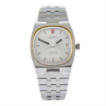 OMEGA - a stainless steel Genève Megasonic 720Hz bracelet watch, 36mm.