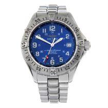 BREITLING - a stainless steel SuperOcean bracelet watch, 41mm.