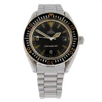 OMEGA - a stainless steel Seamaster 300 'Big Triangle' bracelet watch, 41mm.