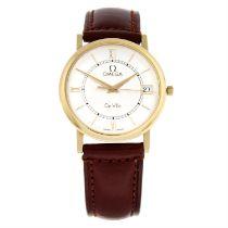 OMEGA - an 18ct yellow gold De Ville wrist watch, 35mm