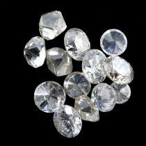 Selection of vari-shape diamonds, weighing 10.03ct