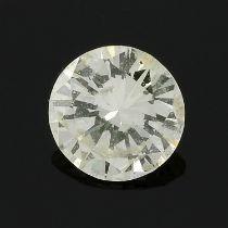 A brilliant cut diamond, weighing 0.28ct
