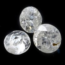 STUART DEVLIN STOCK - Nine brilliant cut diamonds, weighing 1.2ct