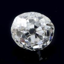 An old cut diamond, weighing 0.60ct