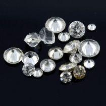Selection of vari-shape diamonds, weighing 10.05ct