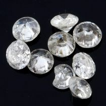 STUART DEVLIN STOCK - Selection of brilliant cut diamonds, weighing 1.45ct
